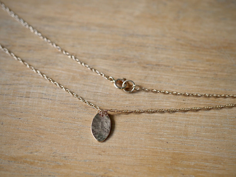 Fragment Oval Necklace