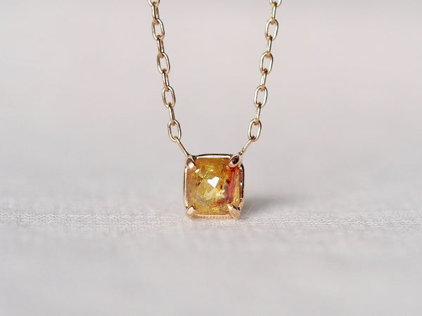 Dahlia Diamond Necklace