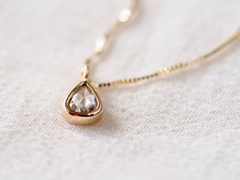 Baby Drop Diamond Necklace
