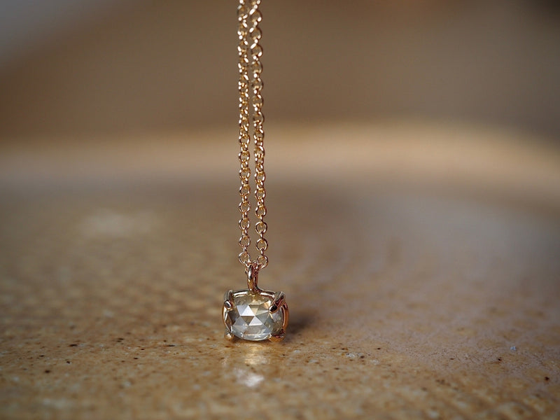 Morning Haze Diamond Necklace
