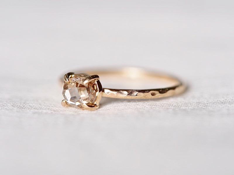Fragment of Nature Diamond Ring
