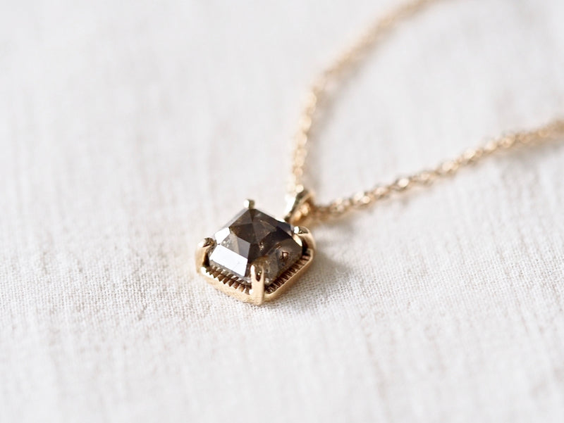 Silence Diamond Necklace