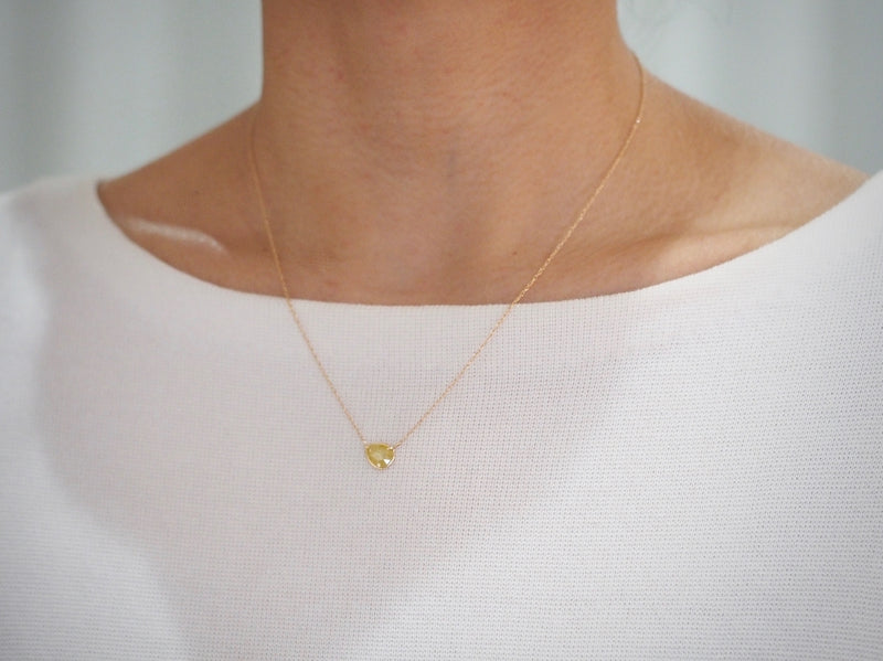 Lemon Sherbet Diamond necklace