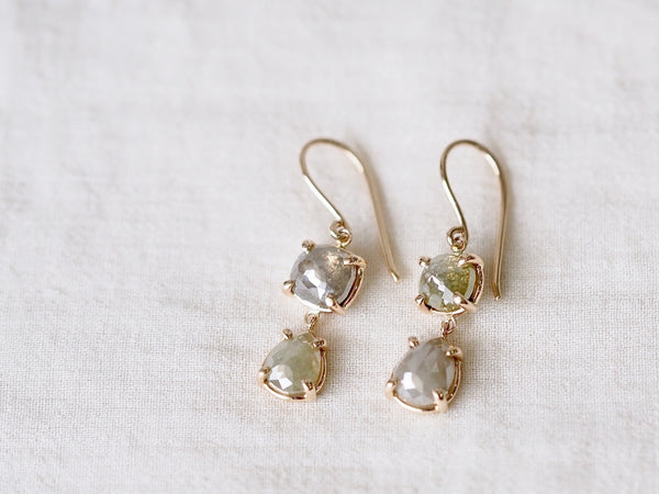 Misty Diamond Dropピアス
