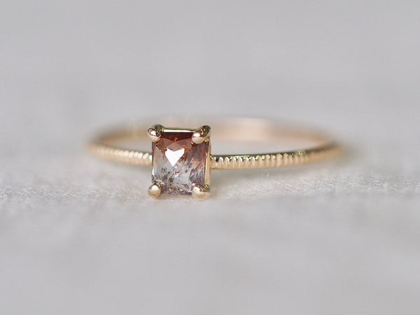 Bi-color Diamond Ring