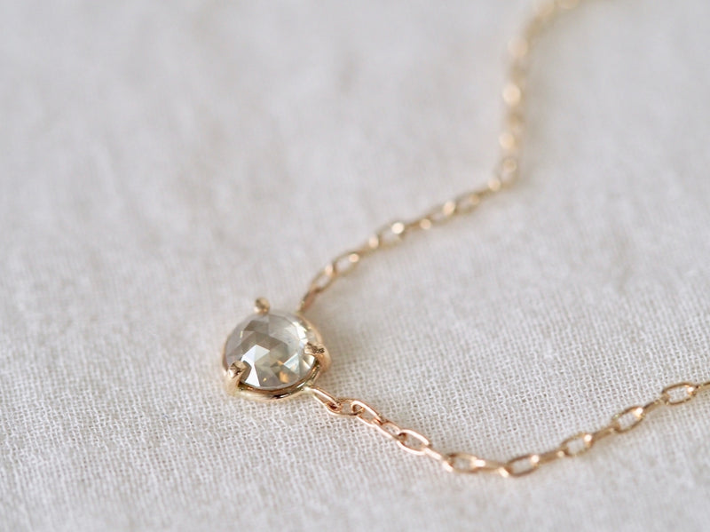 Moon Light Diamond Necklace
