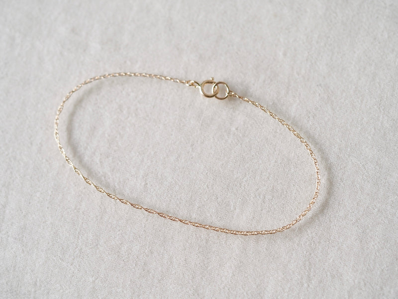 Self Love Bracelet - double rope chain