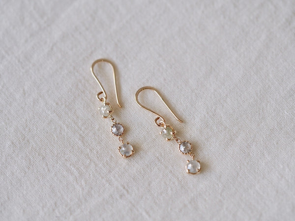 Sea Drops Diamond Earrings
