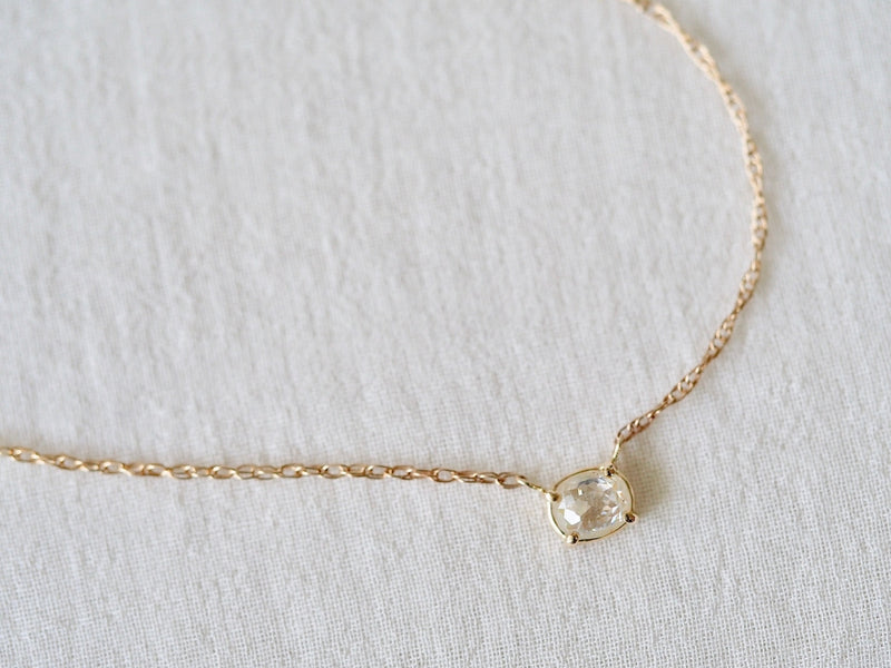 Meringue Diamond Necklace