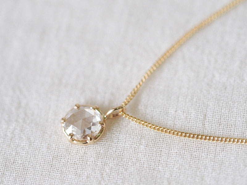Reflection Diamond Necklace