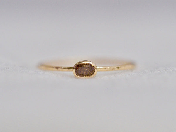 Whisper oval ring #993