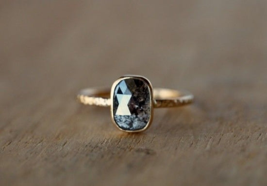 Glimmering in Shadow Ring