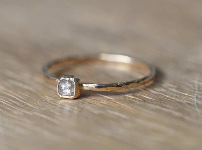 Baby Translucent Diamond Ring