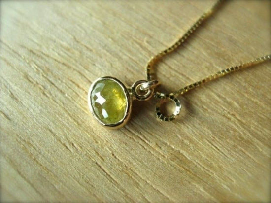 Candy Yellow Diamond Necklace
