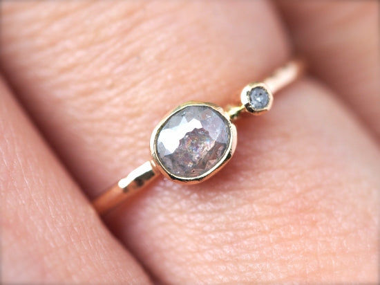 Baby Diamond Satellite Ring シルバー