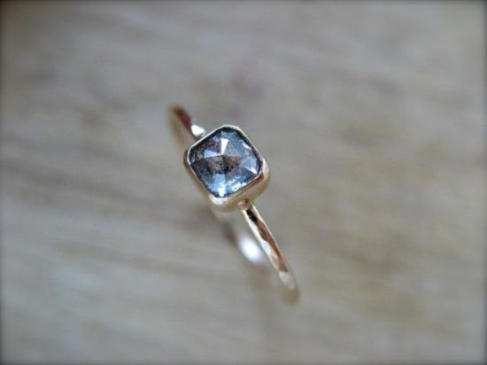 Black Inclusion Diamond Ring