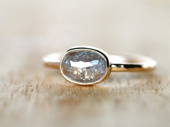 Sleeping Underwater Diamond Ring