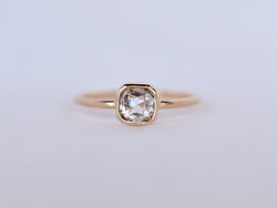 Stella Diamond Ring Bezel Square