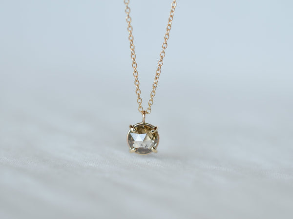 Espresso Brown Diamond Necklace