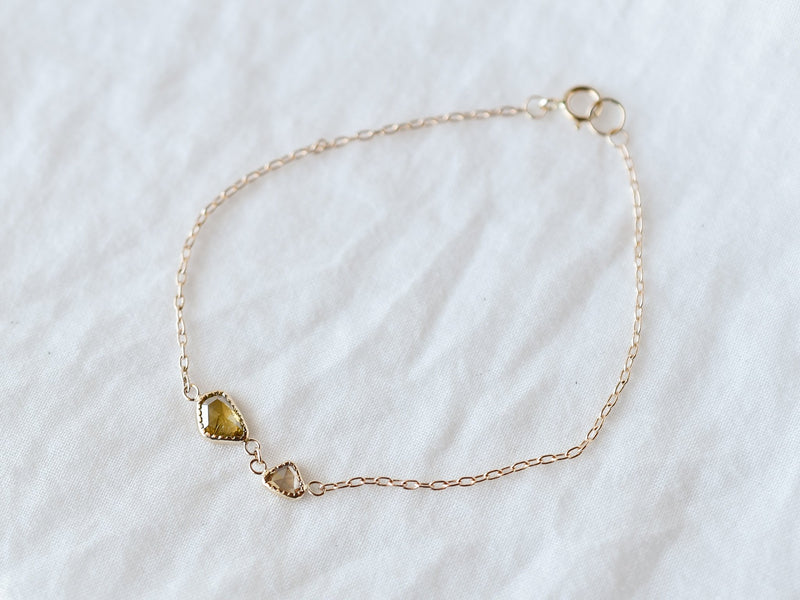 Fragment Diamond Bracelet Olive