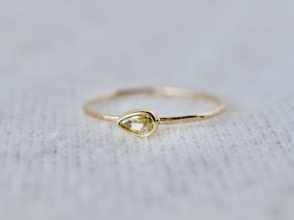 Whisper drop ring #990