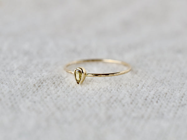 Whisper drop ring #991