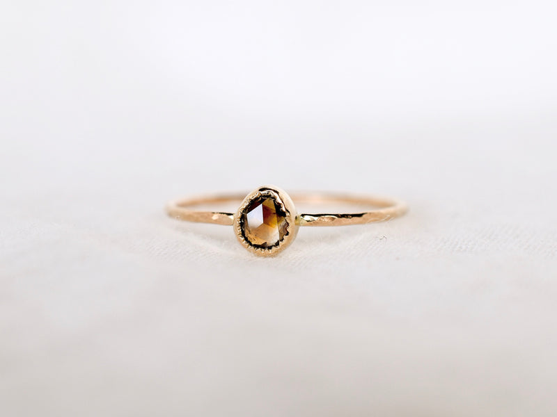 Fragment Diamond ring Plum