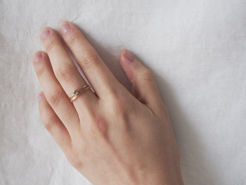 Whisper square ring #1012