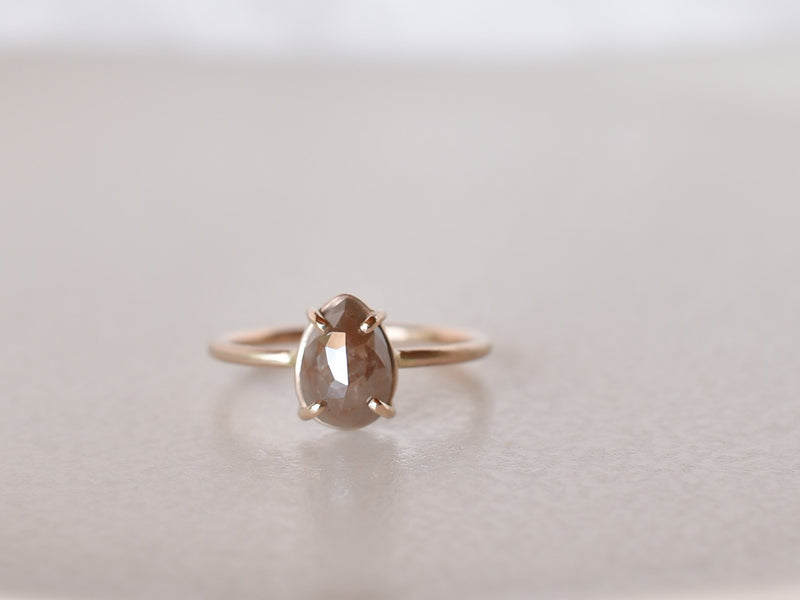 Frosted Diamond Ring Moch Drop