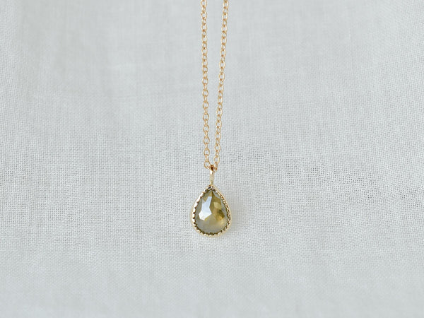 Komorebi Drop Diamond Necklace