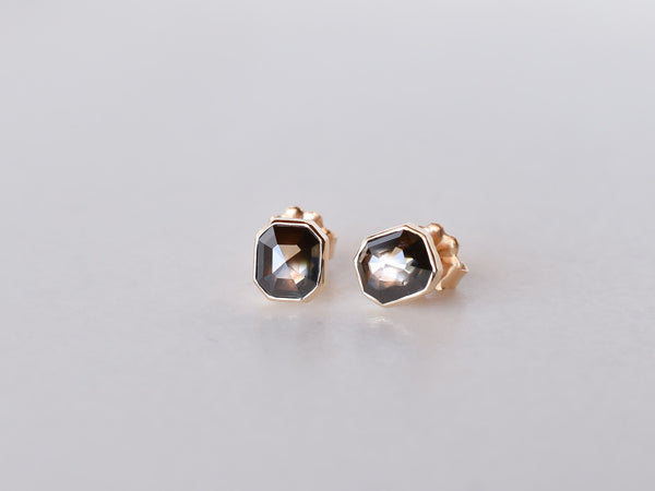 Ombre Diamond Earrings Evening Star