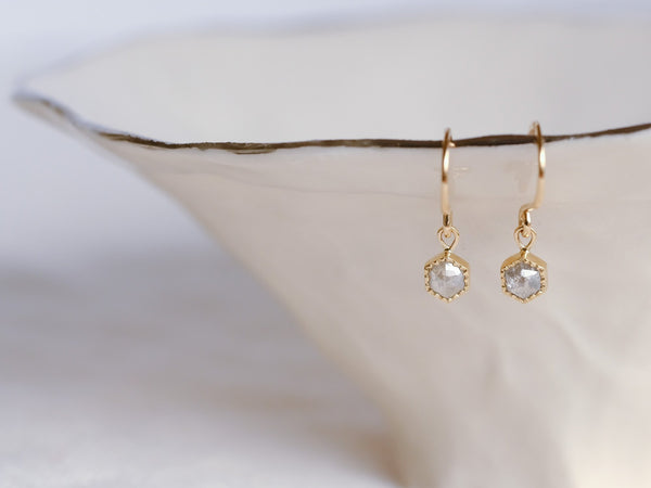 Spring Petals Diamond Earrings