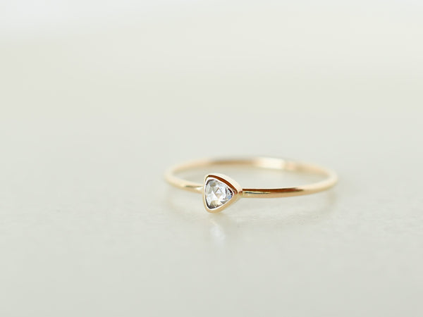 Stella Baby Diamond Ring Triangle