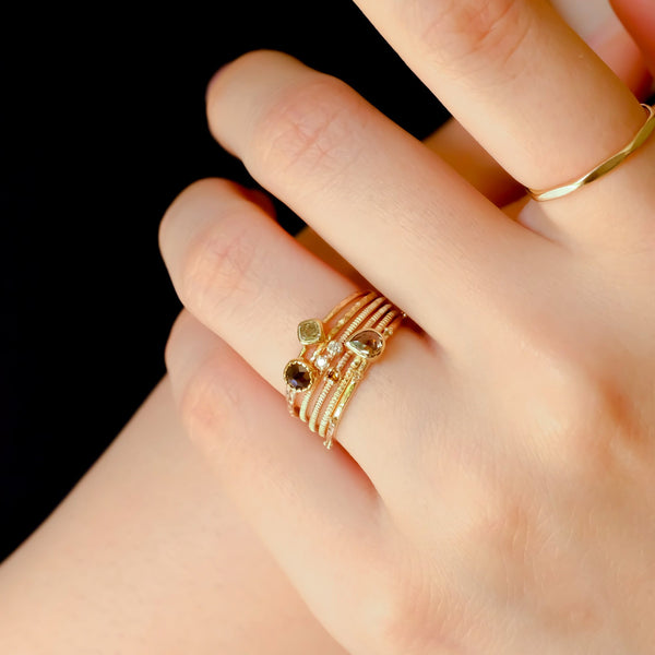 Whisper square ring #1021