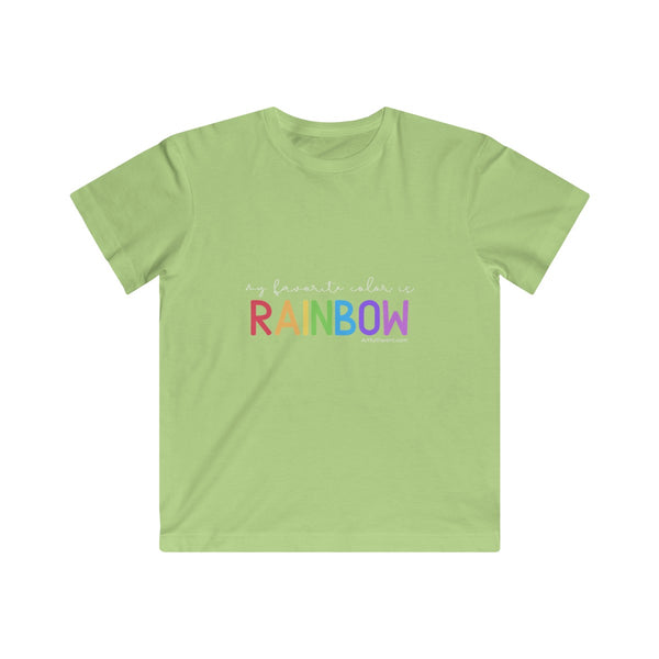 My Favorite Color is Rainbow (Kids T-Shirt)