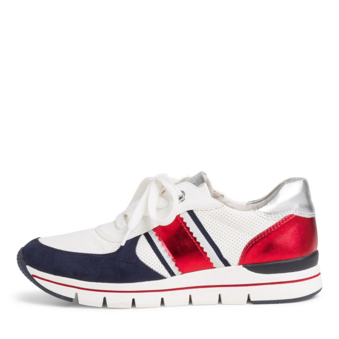 Marco Tozzi 23710 Vegan Trainer White/Navy