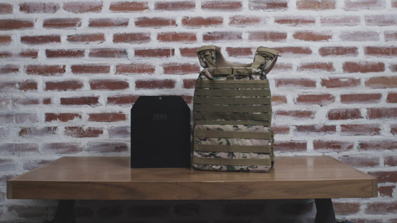 Tactical Deluxe Weighted Vest