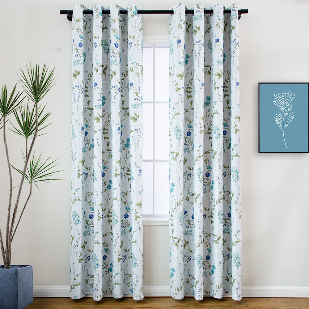 "new printed blackout curtain panel ""charoltte"" launched"