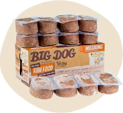 Big Dog Wellbeing 3kg - Maggies Dog Wellness