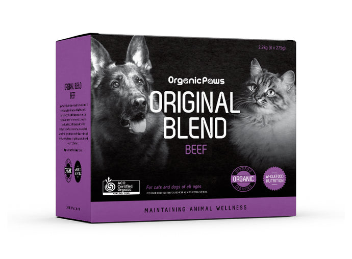 Organic Paws Beef Original Blend - Maggies Dog Wellness