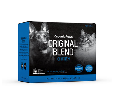Organic Paws Chicken Original Blend (available for local delivery & pick up only) - Maggies Dog Wellness