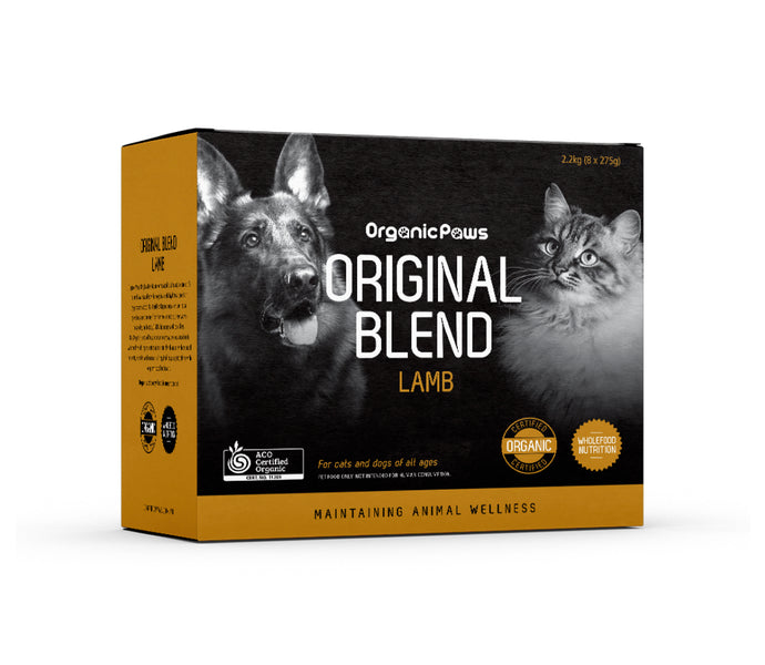 Organic Paws Lamb Original Blend - Maggies Dog Wellness