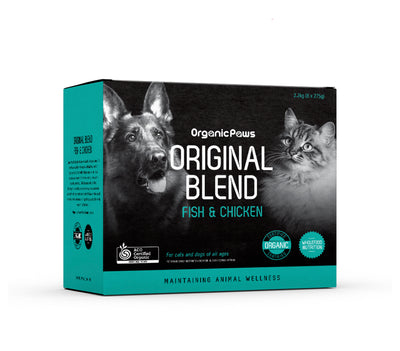 Organic Paws Fish & Chicken Original Blend - Maggies Dog Wellness