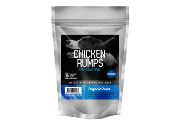 Organic Paws Chicken Rumps - Maggies Dog Wellness