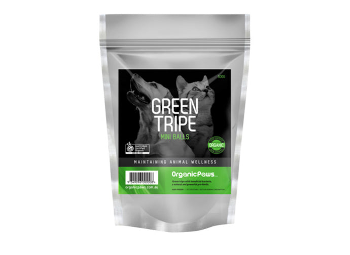 Organic Paws Green Tripe - Maggies Dog Wellness