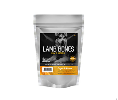 Organic Paws Lamb Bones (available for local delivery & pick up only) - Maggies Dog Wellness