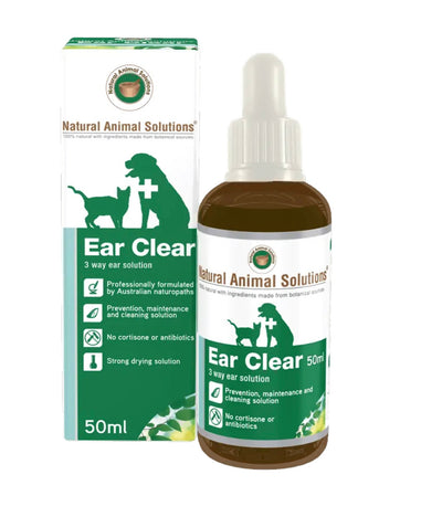 Ear Clear by Natural Animal Solutions - Maggies Dog Wellness