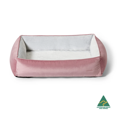 Pink Snuggler Dog Bed Small - Maggies Dog Wellness