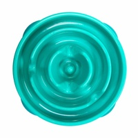 Teal Small Slow Feeder Bowl by Outward Hound - Maggies Dog Wellness