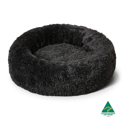 Cuddler Charcoal - Soothing & Calming Dog Bed - Maggies Dog Wellness